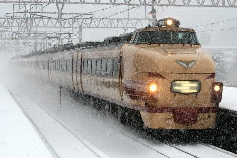 【JR西】489系H01編成 特急「サンダーバード」代走