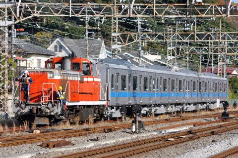 【小田急】4000形4063F(小田原方4連)甲種輸送