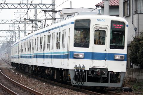 【東武】8000系81100F 試運転