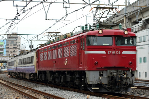 【JR東】485系3000番代モハ2両 郡山総合車両センター入場配給