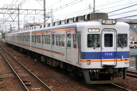 【南海】7000系7048F 千代田工場へ回送