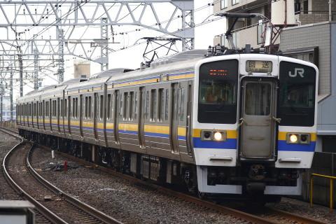 【JR東】211系マリ502編成 大宮総合車両センター出場