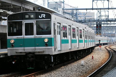 【JR東】203系マト69編成 東京総合車両センター出場