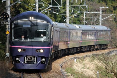 【JR東】485系『華』使用「青梅観梅号」運転