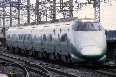 【JR東】400系使用の団体臨時列車運転