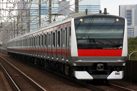 【JR東】E233系5000番台ケヨ501編成 試運転