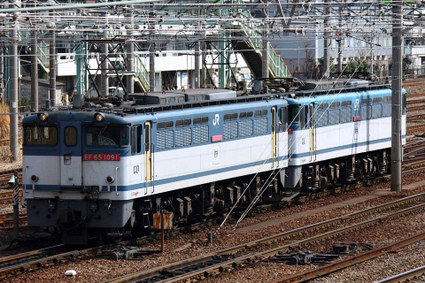 【JR貨】EF65-1065 大宮車両所入場