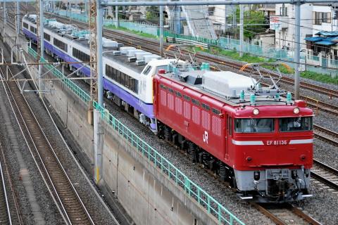 【JR東】485系3000番代アオA6編成 郡山総合車両センター