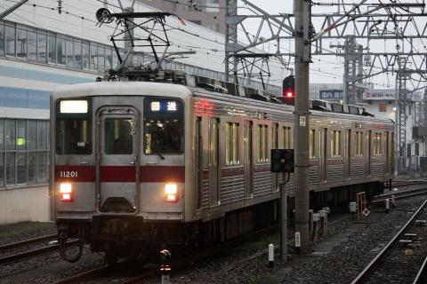 【東武】10000系11201F 川越工場入場