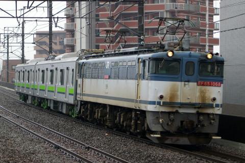 【都営】10-300形中間車2両 甲種輸送
