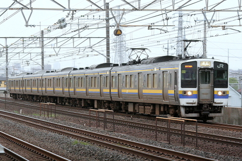 【JR東】211系マリ509編成 試運転