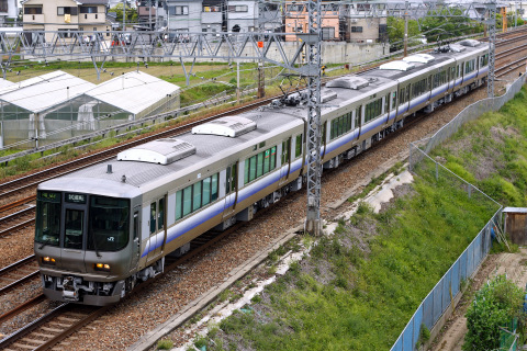 【JR西】223系2500番代E423編成 試運転