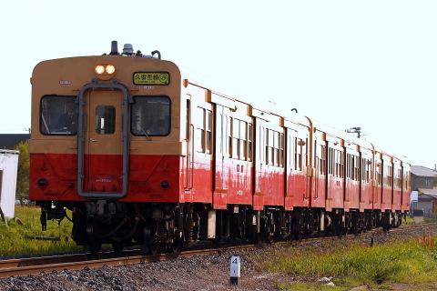 【JR東】久留里線で国鉄色3両運転実施