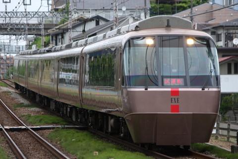 【小田急】30000形30255F(EXE) 試運転