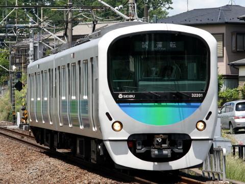 【西武】30000系32101F 試運転