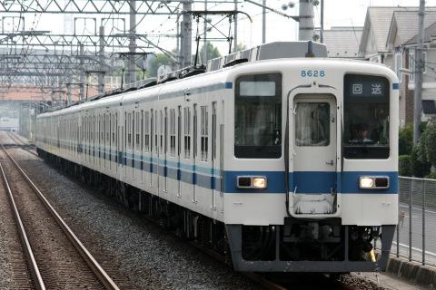 【東武】8000系8535F 8543F 8547F 8528F 北館林へ回送