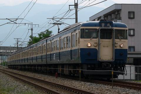 【JR東】115系トタM40編成 普通列車に充当