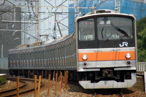 【JR東】205系ケヨM12編成 大宮総合車両センター入場