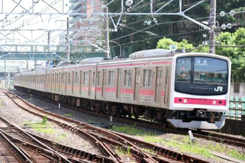 【JR東】205系ケヨ8編成 旧習志野電車区へ