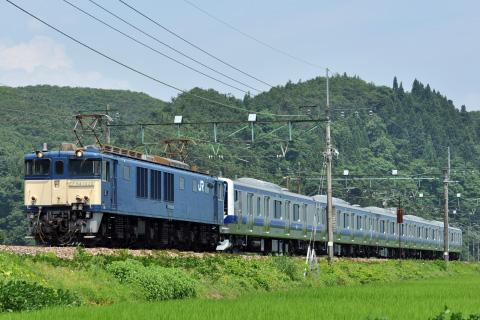 【JR東】E531系カツK468編成 配給輸送