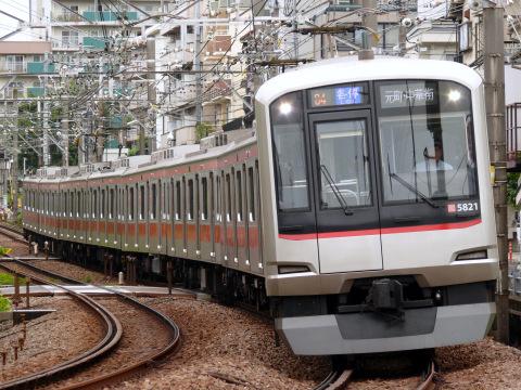 【東急】5000系5121F 東横線にて運用復帰