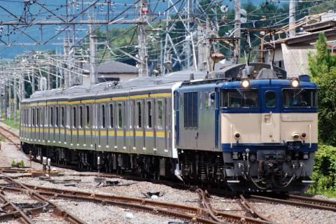 【JR東】209系2100番代マリC625編成 配給輸送