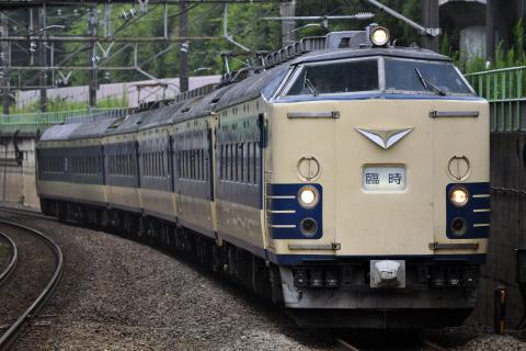 【JR東】583系秋田車使用 TDR臨
