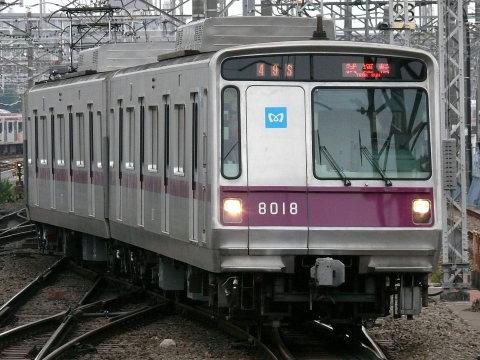 【メトロ】8000系8118F トレインビジョン表示試験実施