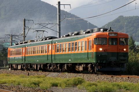 【しなの】169系S52編成 湘南色になり運用開始