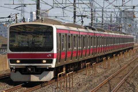【JR東】209系ケヨ31編成 東京総合車両センター入場