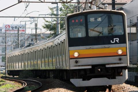 【JR東】205系ナハ12編成 大宮総合車両センター入場