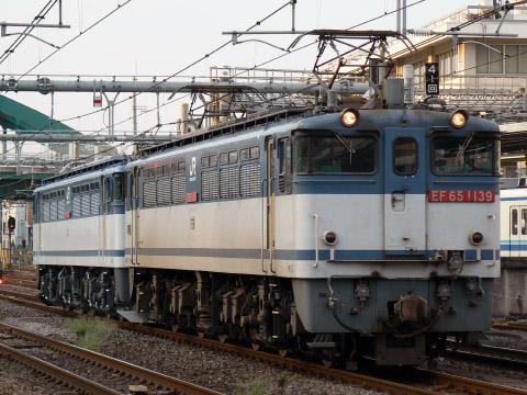 【JR貨】EF65-1057 大宮車両所出場