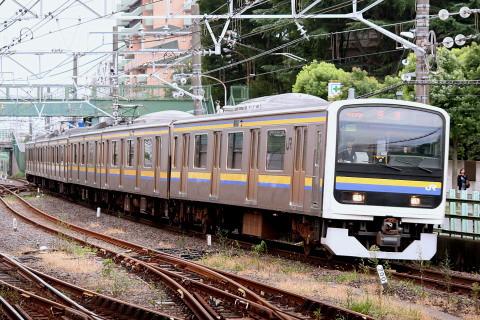 【JR東】209系2100番代マリC602編成 旧習志野電車区へ