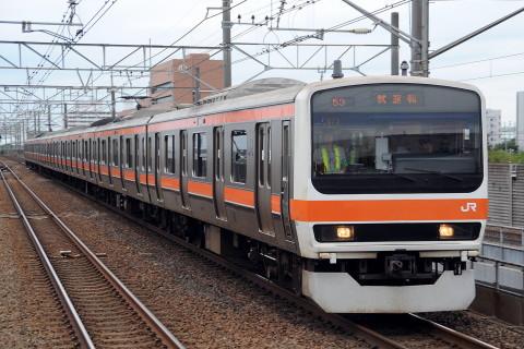 【JR東】209系ケヨM73編成(武蔵野線仕様) 試運転