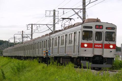 【東急】8500系8629F 長津田車両工場入場