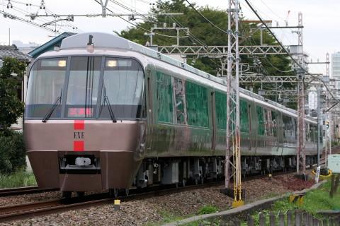 【小田急】30000形30256F(EXE) 出場試運転
