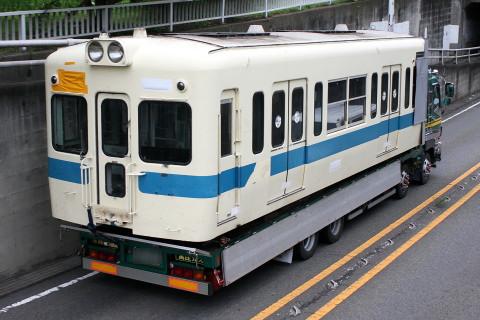 【小田急】5000形5053F 新宿側2両搬出