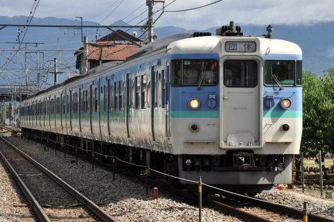 【JR東】115系ナノC14編成使用「旅のプレゼント号」運転