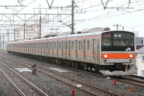 【JR東】205系ケヨM21編成 大宮総合車両センター入場