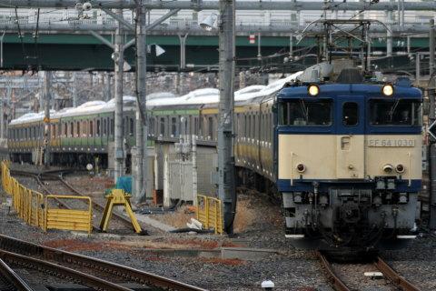 【JR東】山手線用サハE231形600・4600番代 配給輸送