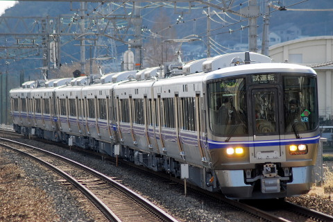 【JR西】521系6両 川崎重工出場