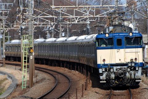 【JR東】元山手線用サハE230形500番代(6扉車) 廃車配給