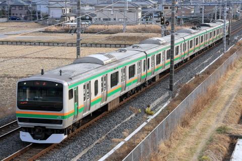 【JR東】E231系ヤマU53編成 東京総合車両センター出場