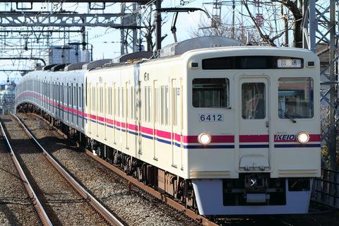 【京王】6000系6412F 廃車回送