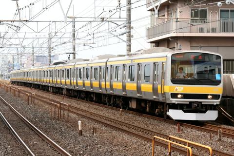 【JR東】E231系ミツ38編成使用 乗務員訓練