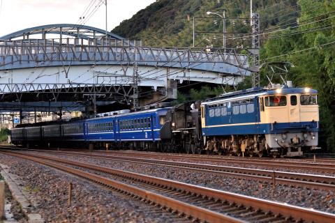 【JR西】C56-160+12系宮原車6両 返却回送