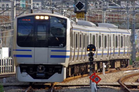 【JR東】E217系クラY137編成 東京総合車両センター出場