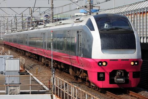 【JR東】E653系K301編成使用 TDR臨
