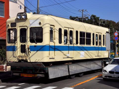 【小田急】5000系5065F 小田原側2両搬出