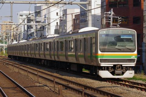 【JR東】E231系ヤマU66編成 東京総合車両センター入場